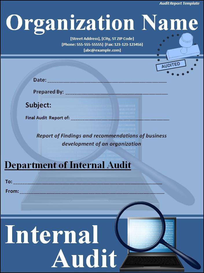 It Audit Report Model And Sampleformat For Audit Report KCash