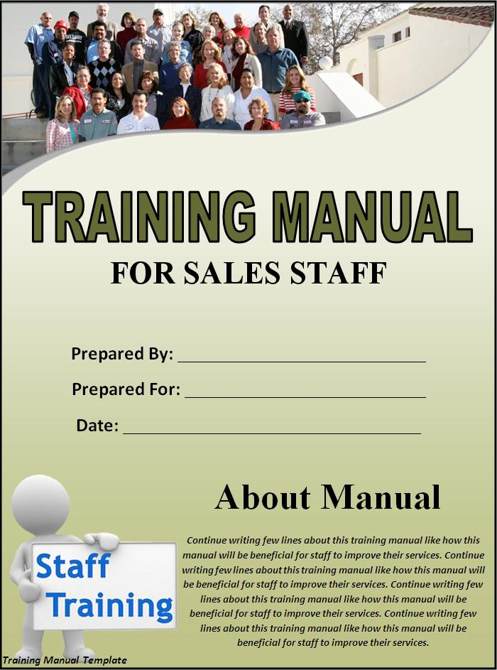 Training Manual Template Professional Word Templates