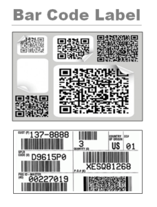 Bar Code Label Template 2