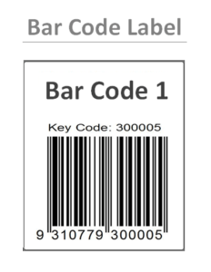 Barcode Label Templates